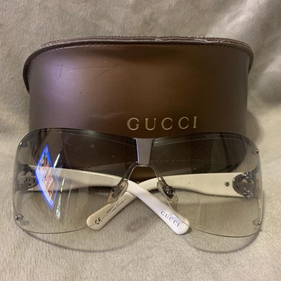 aca2b84763a3 Gucci Accessories | Rimless Gem Side Sunglasses | Poshmark